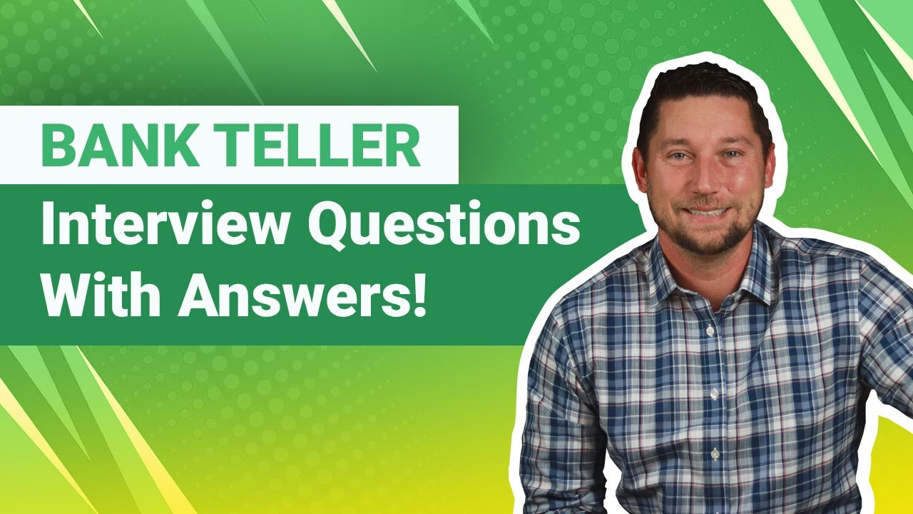 Bank Teller Interview Questions With Answers Youtube Chase teller interview questions and answers