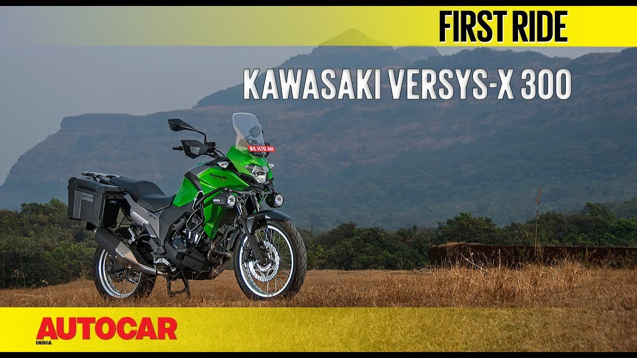 video Kawasaki Versys X 300