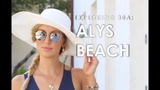 Trip to Alys Beach in 30A