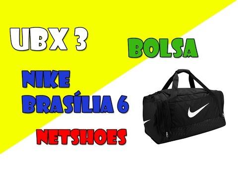 #3 Unboxing - Bolsa Nike Brasilia 6 Tamanho P (small) NetShoes (PT-BR) HD