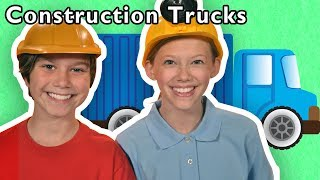 Construction Trucks + More | Mother Goose Club Playhouse Songs & Rhymes