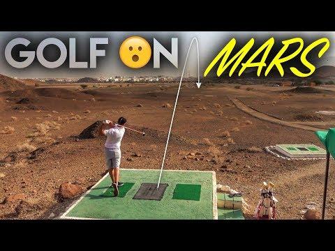 Playing Golf…ON MARS! Desert Golf in Oman