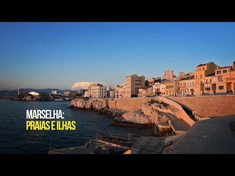 Ilhas e praias em Marselha / Islands and Beaches in Marseille