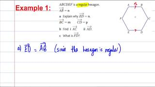 Vectors - GCSE Maths