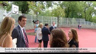 Escola EB Paulo da Gama requalificada com investimento municipal