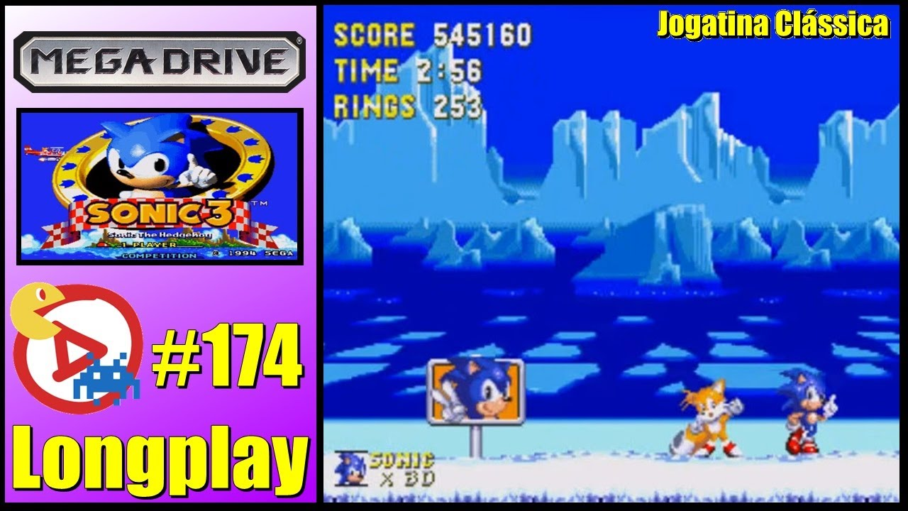 Mega Drive Longplay Sonic The Hedgehog 3 Youtube