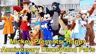 Mickey Presents: Happy Anniversary Disneyland Paris FULL Show, 25th Joyeux Anniversaire
