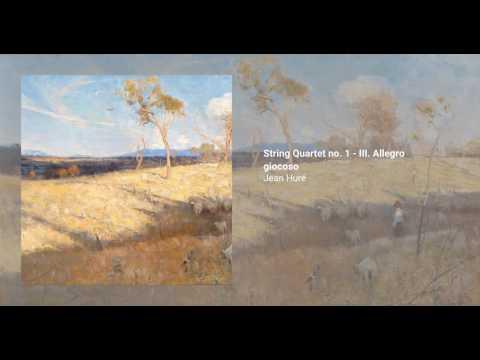 String Quartet no. 1 - III. Allegro giocoso