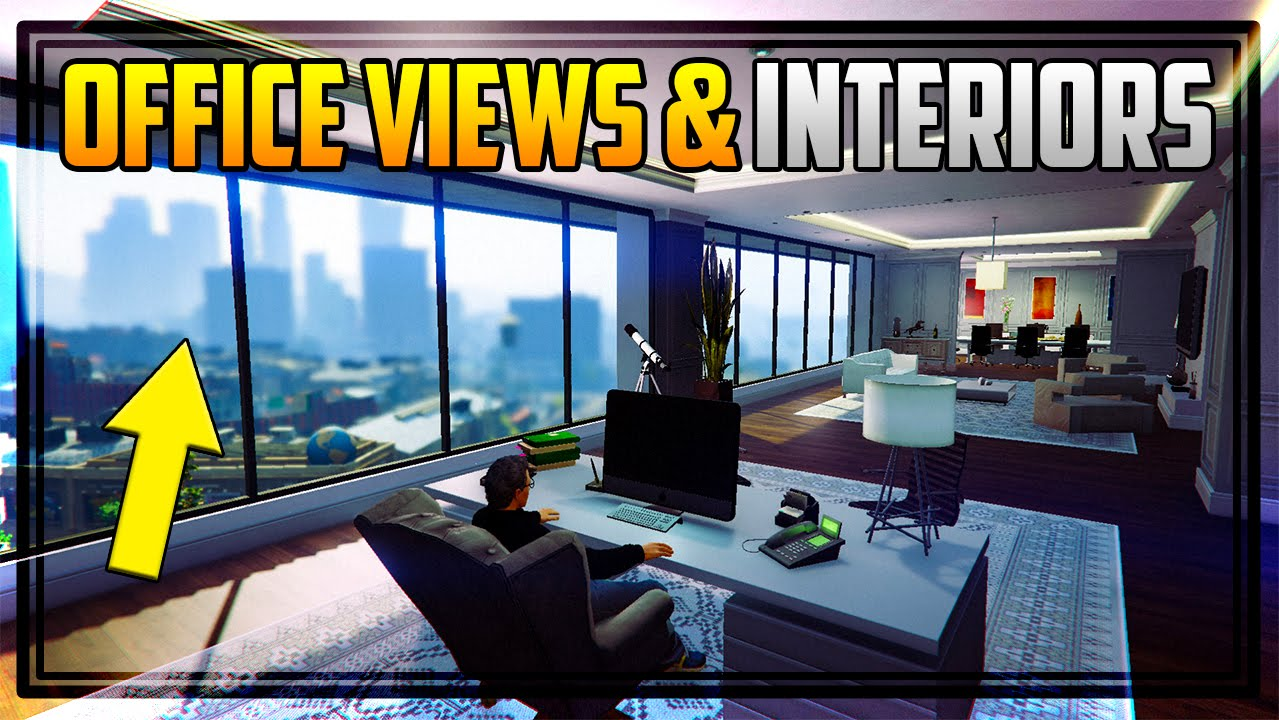 online office design. GTA 5 ALL \u0027OFFICE\u0027 VIEWS, ENTRANCES \u0026 INTERIORS! + How To Become A CEO! (Finance Felony) - YouTube Online Office Design