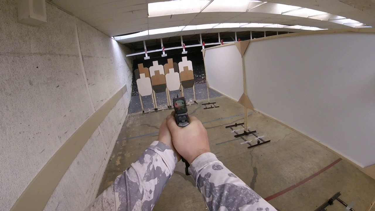 Detroit Sportsman's Congress USPSA - February 2019 - Open Minor - Stage 3 FPV