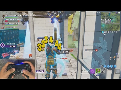 The Controller Attachment That Gives Me Aimbot + My Linear Settings | BrockPlaysFortnite