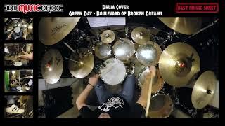 Green day - Boulevard Of Broken Dreams - DRUM COVER