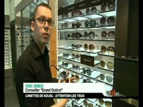 7dcae44eabf3c Comment bien choisir ses lunettes de soleil  Sujet M6 avec GrandOptical