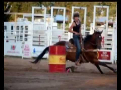 Kat Dash,  Barrel Race Runs Thru Christmas Cash, Dec 2012