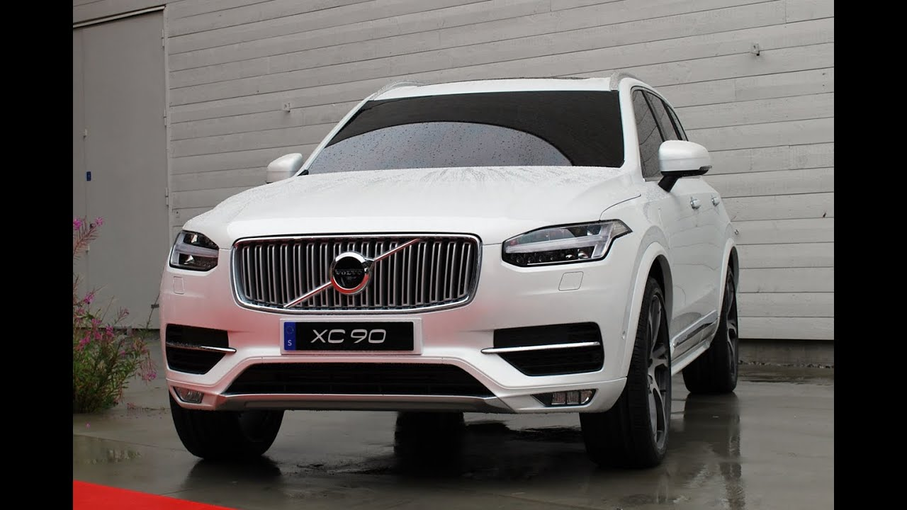 New Volvo XC90 R Design 2015 - Crazy Cars TV - YouTube