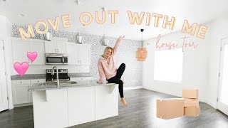 MOVE OUT WITH ME + Empty House Tour! | Aspyn Ovard