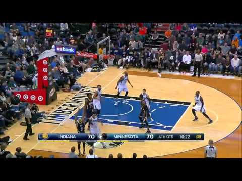 Indiana Pacers vs Minnesota Timberwolves | December 26, 2015 | NBA 2015-16 Season