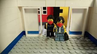 LEGO мультфильм - ограбление банка   LEGO bank robbery fail
