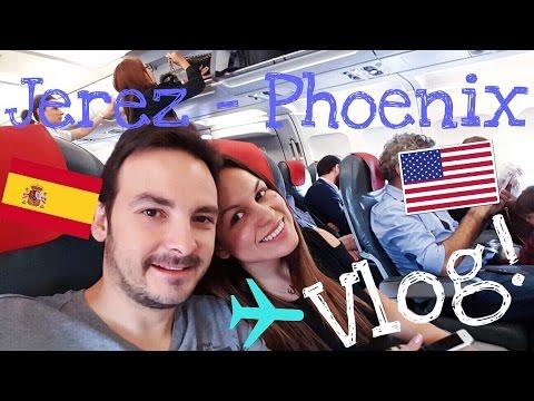 Jerez a Phoenix ✈ Vlog! | Ande Asiul