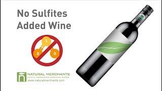 No Sulfites Added Wine