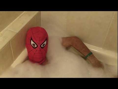 Spiderman Moment - Bath Time (Original)