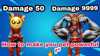 How to Make y๐ur pet stronger in Trainers Arena| #BlockmanGo #TrainersArena #YouTube #ImranGaming