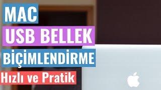 MAC USB BELLEK BİÇİMLENDİRME NASIL YAPILIR