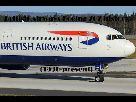 Fleet History - British Airways Boeing 767 (1990-present)