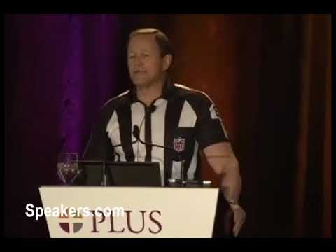 Keynote Speaker  Ed Hochuli • Presented By • Speakers.com • Crisis  Management 86b87ed6e