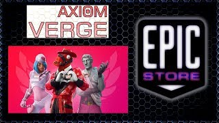 EPIC STORE ~ FREE GAME 2/7 = Axiom Verge - FORTNITE Share The Love Event!