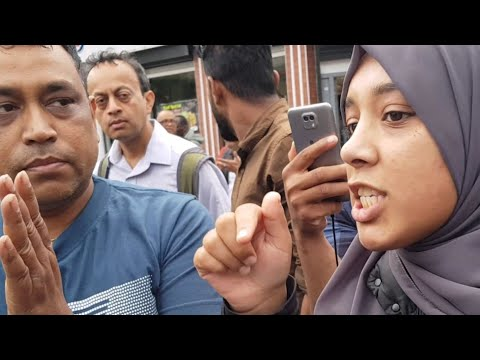 """THIS IS A MUSLIM AREA"" EAST LONDON 