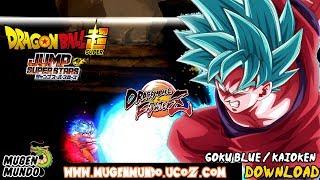 LANÇOU! Goku SSJ Blue & Kaioken (UPDATE) by Rivelio (DOWNLOAD)