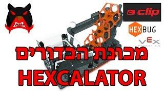 סיקור של מכונת הכדורים HEXCALATOR