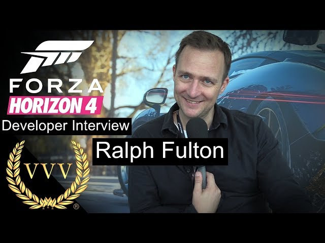 Forza Horizon 4 - Ralph Fulton Interview