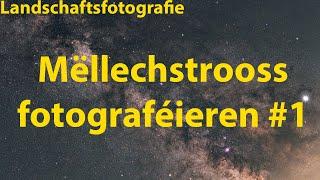 Mëllechstrooss fotograféieren och zu Lëtzebuerg