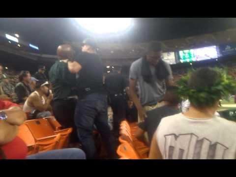 Aloha Stadium Fight..
