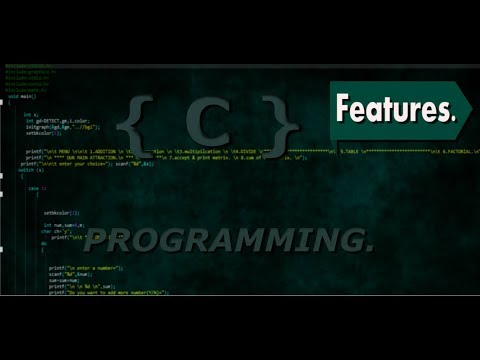 Features of C | C Programming Tutorial for Beginners. thumbnail