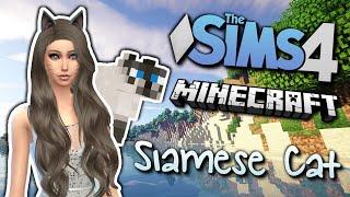 The Sims 4 - Minecraft Siamese Cat - (Create-A-Sim)