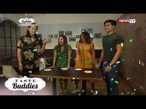 Taste Buddies: 'Ice cube game' with Denise Barbacena and Manolo Pedrosa