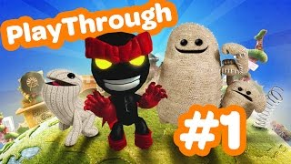 LittleBigPlanet 3 - Playthrough part 1 : Et c
