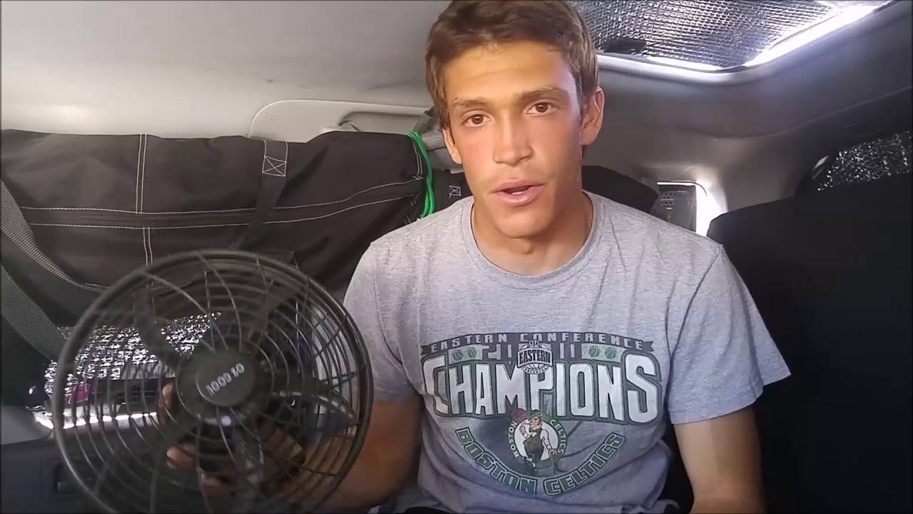 9bc4b0c6335 Living in a Van Staying Cool in Summer. Element Van Life