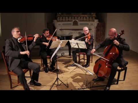 Neapolis String Quartet plays L. van Beethoven: Quartet op.59 n.2.