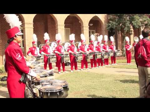 Million Dollar Band Drumline Yea Alabama Full Version Woods Quad Oct 26, 13