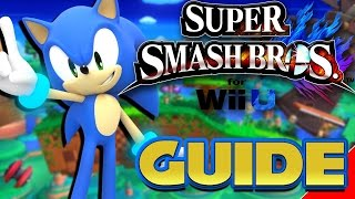 Super Smash Bros 4 Wii U and 3DS Sonic Guide (60 FPS)