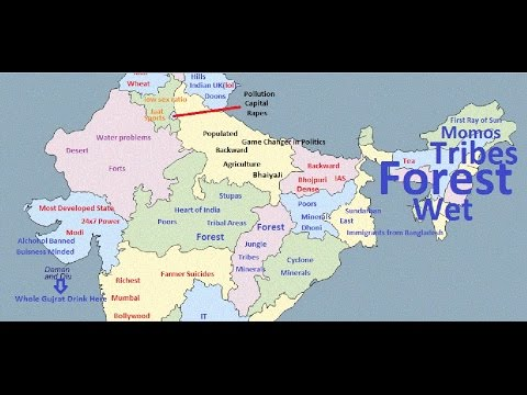 Indian States According to Indians