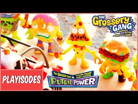 Grossery Gang Action Figures take on Vac Attack! PUTRID POWER! | Imports Dragon thumbnail