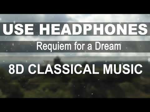 Requiem for a Dream - Clint Mansell - Kronos Quartet (8D AUDIO)