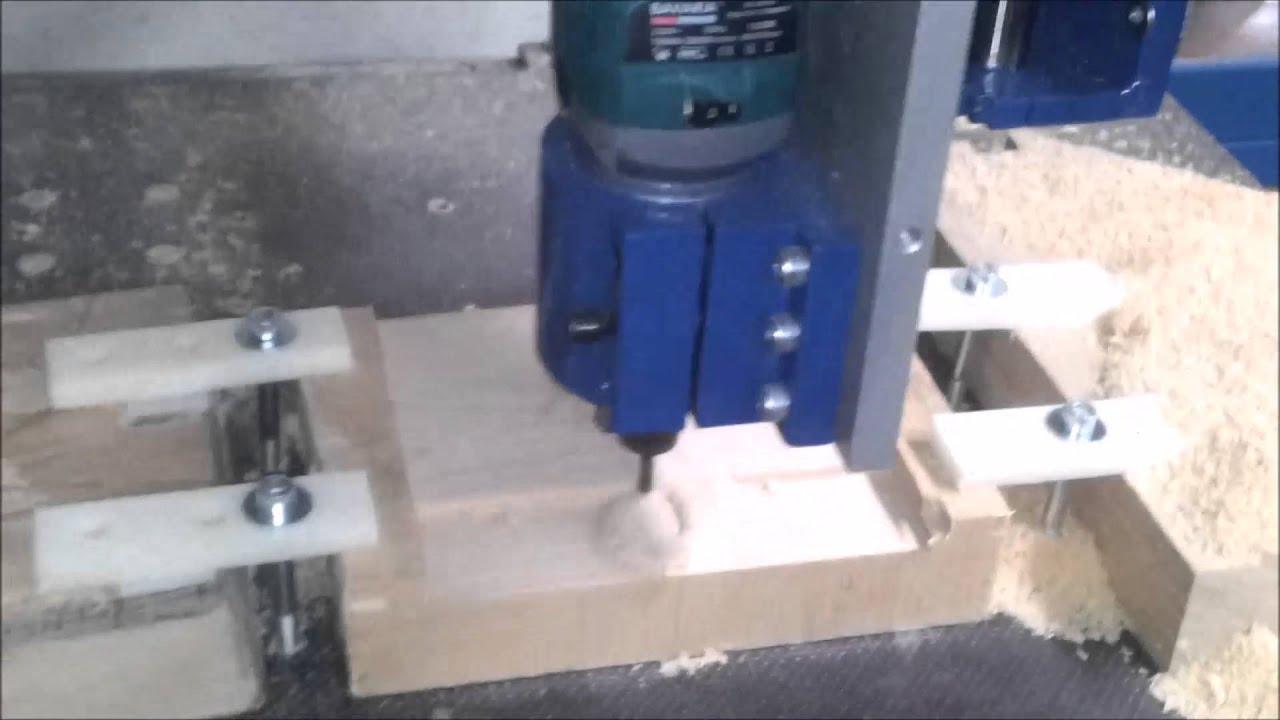 Świeże Frezarka CNC własnej konstrukcji. - YouTube JX52