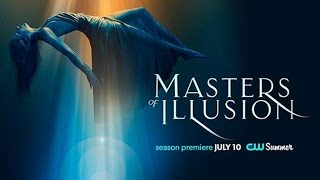Mark Bennick Masters of Illusion 2015 CW Network
