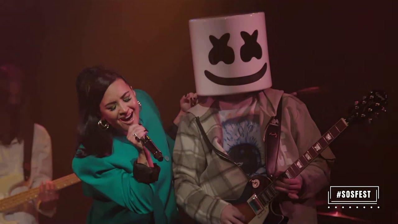 Marshmello + Demi Lovato - Live from Troubadour (#SOSFEST)